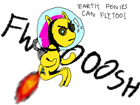 EARTH PONIES CAN FLY. by DavidSchwartz
