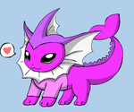 The many versions of Dcatpuppet: Vaporeon by DCatpuppet
