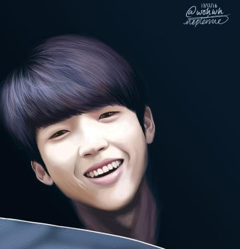 Woohyun 2 by nepterine7