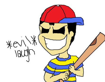 Ness is evil by rosalina1994