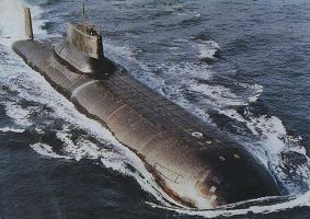 Typoon Class Submarine by GeneralTate