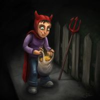 Halloween trick by Ryben