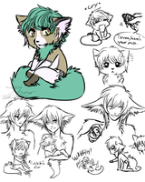Toivoa Sketches by itsmar