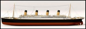 RMS Titanic 3d model by WaskoGM