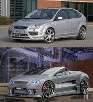 Ford focus Future ride by zvtdesigns