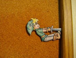"Link Paperchild - ""Stuck"" by EDeutsch90"