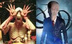 The Pale Man and The Slender Man by SilverBuller