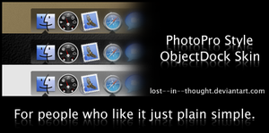 PhotoPro Style ObjectDock by lost--in--thought