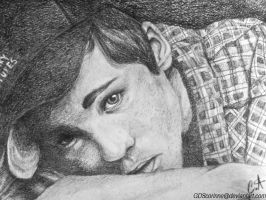 Logan Lerman by GDSCorinne