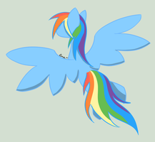 Rainbow Dash by AlphaAquilae
