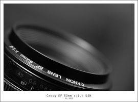Canon EF 50mm f1.4 USM by Mr808