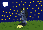 Fading with the stars .:Gift:. by 2006magicpuppy