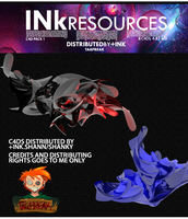 Ink Abstract C4d Pack 1 by ShannShah