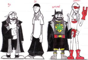 Jay, Silent Bob and Alter Egos by ravens-raziel