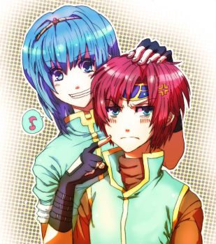 marth and roy by ituki-t