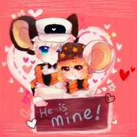 Valentine Time by FishOuO