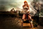 The Barbarian: Child of Bul-Kathos by LittleBlondeGoth