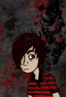 Emo Selfportrait by cephalopode