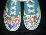 Nintendo Shoes by raashton