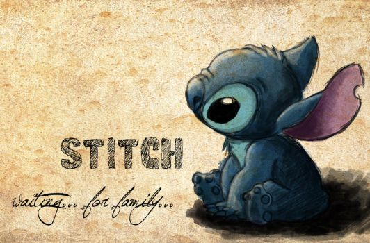 Stitch - waiting for family by vivsters