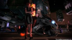 Romance on Omega - Thane and Jane by The-JoeBlack