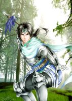first sun rays-DW5 Zhao Yun by snowhaven
