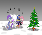 Christmas with some favorite girls by Trey-Vore