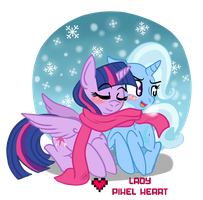 This scarf is still too big Twilight by ladypixelheart