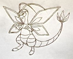 Project Fakemon: Mega Flygon by XXD17
