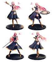 [MMD] Luka Figure Pose Pack - DL by Snorlaxin