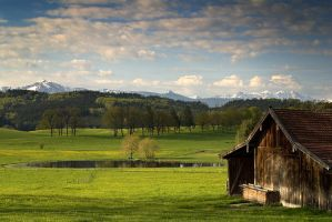Bavarian Spring III by mutrus