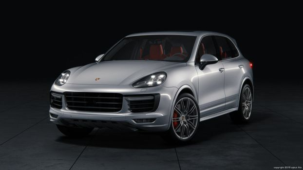 Porsche Cayenne Turbo by aykutfiliz