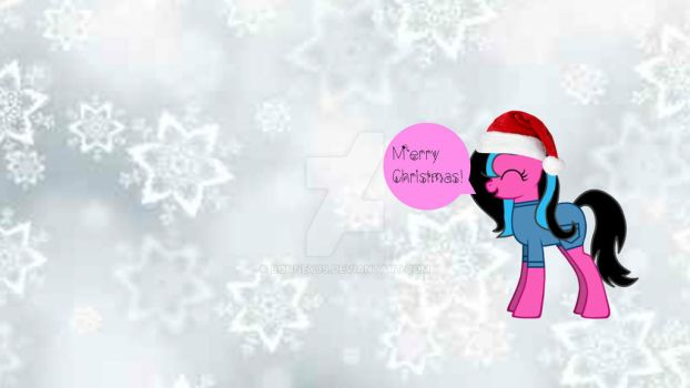 MERRY CHRISTMAS! (OC MLP) by bonney99