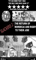 Regular Show:Slackers 2 movie poster by Amalockh1