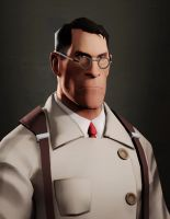 Medic portrait by Kamixaqui