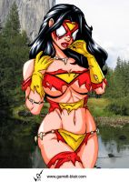 Savage Land Spiderwoman by Mythical-Mommy