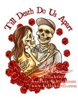 Till Death Do Us Apart Tattoo Design by helloheath