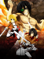 SnK: The Battle for Trost by Asianator
