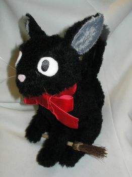 Jiji plushie from Kiki's Delivery Service by Nigh-Eve