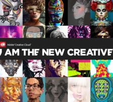 I Am The New Creative - Adobe CC campaign by KingaBritschgi