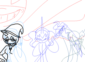 My Little Soul Eater: Villains are Magic (WIP) by JuicyJuiceHypotenuse