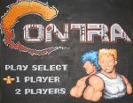 Contra Intro Screen by Squarepainter