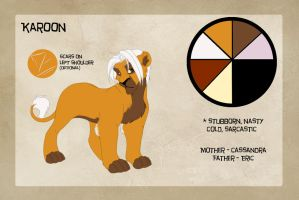 Color reference - Young Karoon by Mirri
