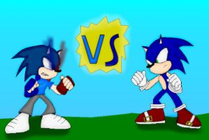 The Hedgehogs Battle by superpivot1231