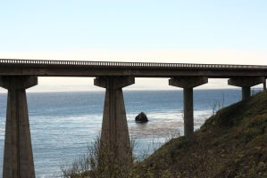 Pacific Coast Bridge by Paradise-Road