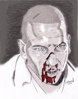 The Walking Dead: Zombie Shane Walsh by StevenWilcox