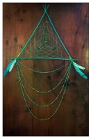 Mint Dreamcatcher by erzsebet-beast