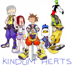 Kingdom Hearts: Featuring Dolan and Friends by TheTriforceBlade