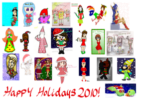 collab-Christmas 2010 :D by Peach-X-Yoshi