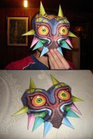 Majora Mask Zeldas Papercraft by ryo007
